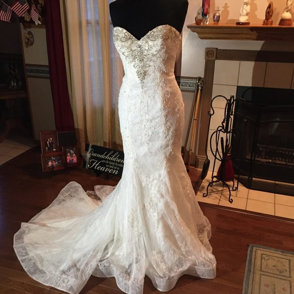 David Tutera Dresses Bridal Gown Style 216253 Size 10 Poshmark